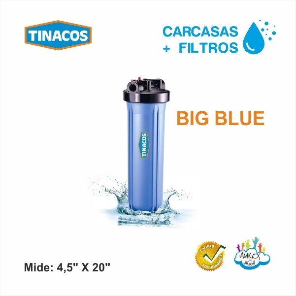 CARCASAS PARA FILTRO BIG BLUE TINACOS