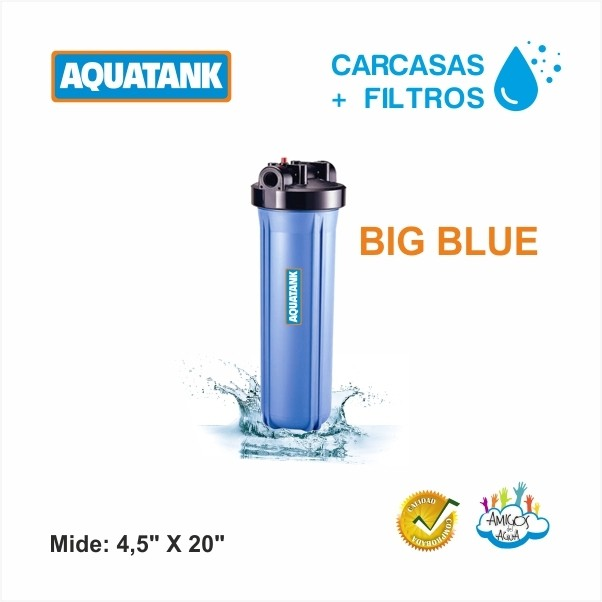 CARCASA PARA FILTRO BIG BLUE AQUATANK