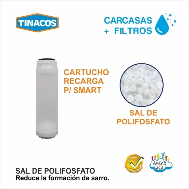 CARTUCHO + SAL DE POLIFOSFATO TINACOS
