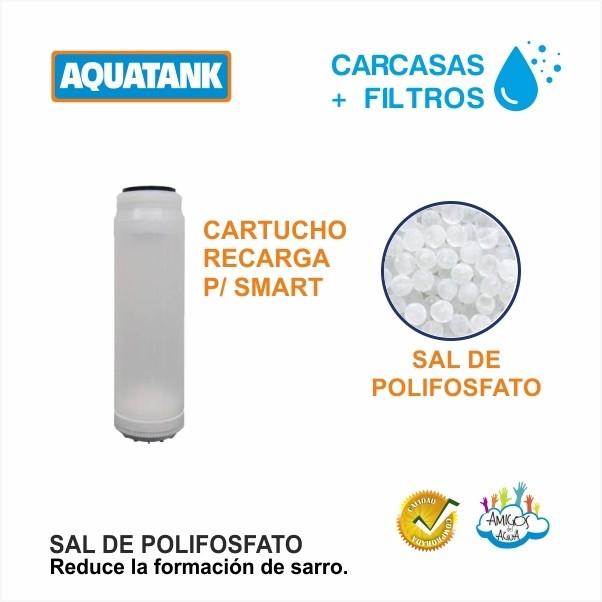 CARTUCHO + SAL DE POLIFOSFATO AQUATANK