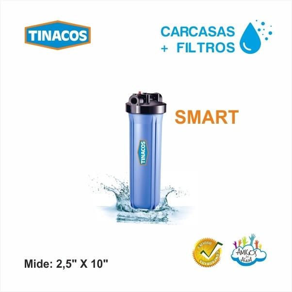 CARCASAS PARA FILTROS SMART TINACOS